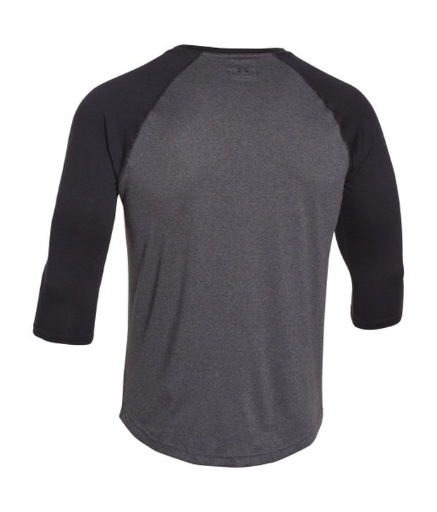 Under Armour Under Armour Men's Tech Three-quarter Sleeve Shirt, True Gray Heather/persian