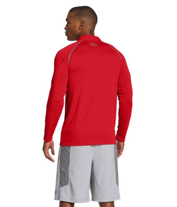 Under Armour Under Armour Men's Ua Tech Quarter Zip Long Sleeve Shirt, Hvy/hvy/graphite