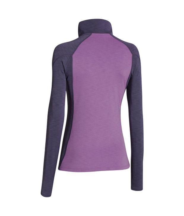 Under Armour Under Armour Women's Coldgear Cozy Half Zip Long Sleeve Shirt, Rebel Pink