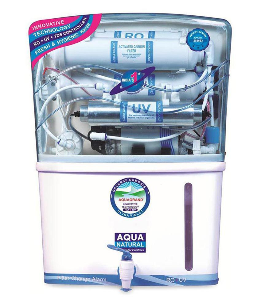 Aquagrand 15 Ltr 10 10 Stage Ro+uv+tds+uf Water Purifiers