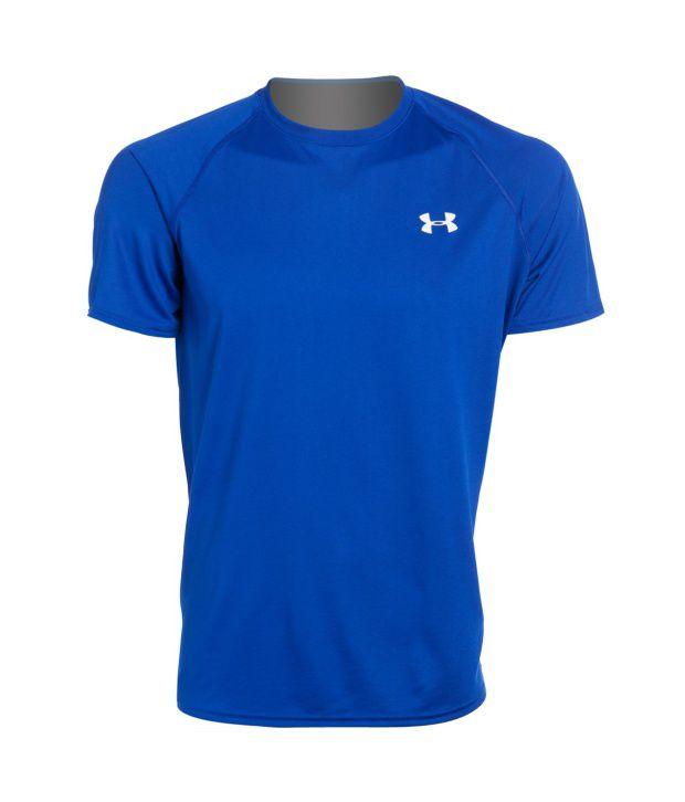 Under Armour Men's Ua Tech Short Sleeve T-shirt, Red/white