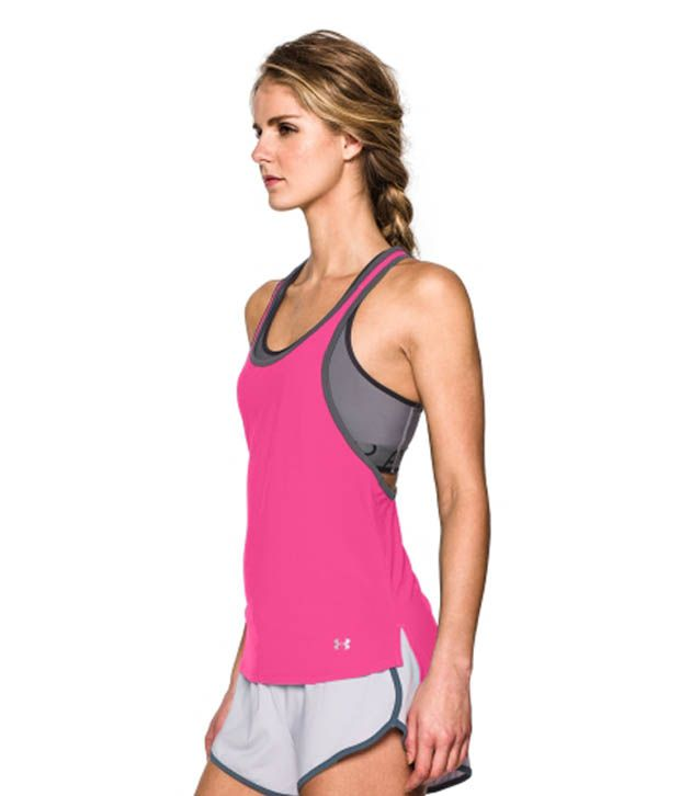 Under Armour Under Armour Women's Alpha Mesh Loose Tank Top, White