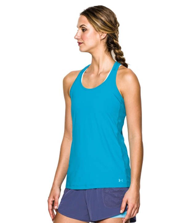 Under Armour Under Armour Women's Armourvent Tank Top, X-ray/x-ray/reflective