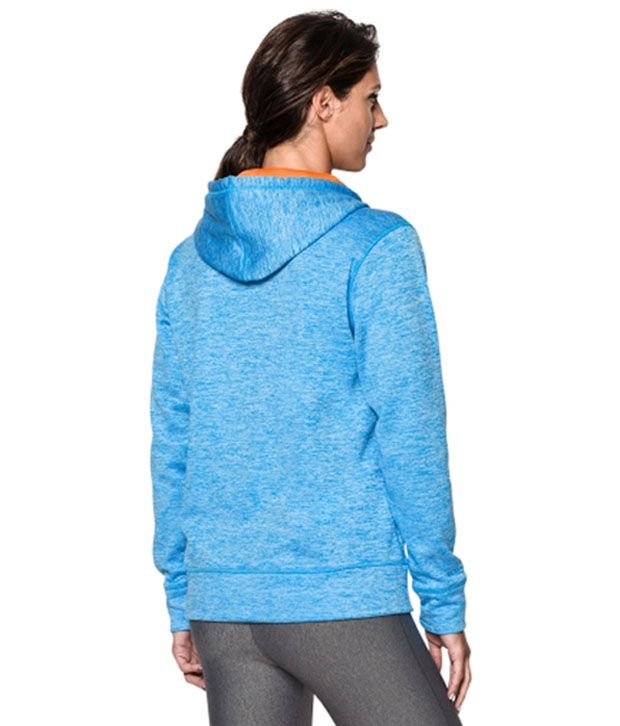 Under Armour Under Armour Women's Storm Armour Fleece Big Logo Twist Hoodie, Montana Teal