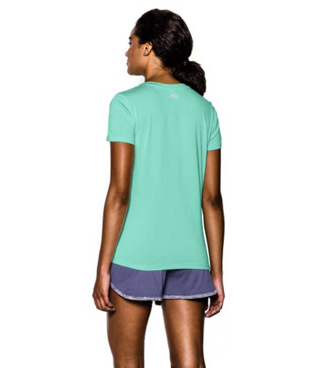 Under Armour Under Armour Women's Twisted Tech V-neck Shirt, Afterburn