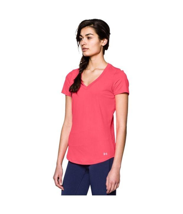 Under Armour Under Armour Women's Armourvent V-neck Short Sleeve Shirt, Island Blue