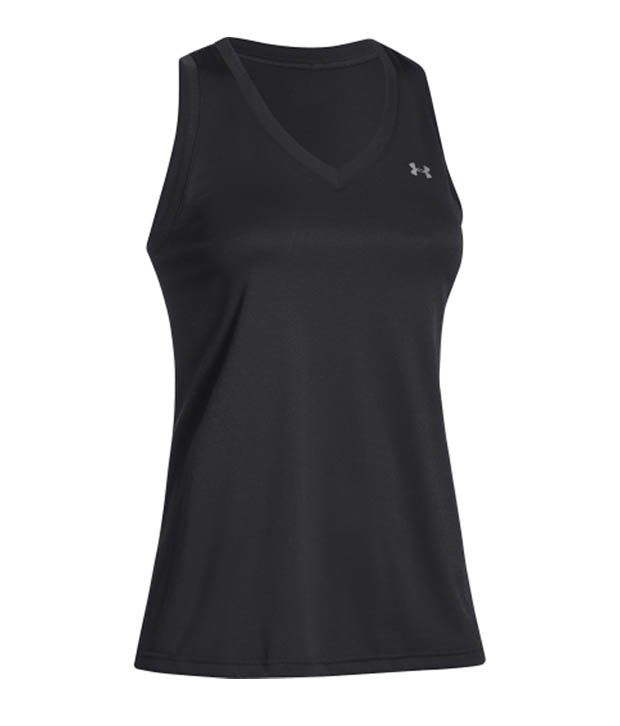 Under Armour Under Armour Women's Tech V-neck Tank Top, Pink Shock/msv