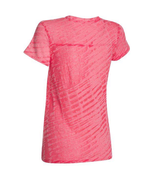 Under Armour Under Armour Women's Charged Cotton Tri-blend Novelty Standout T-shirt, Black