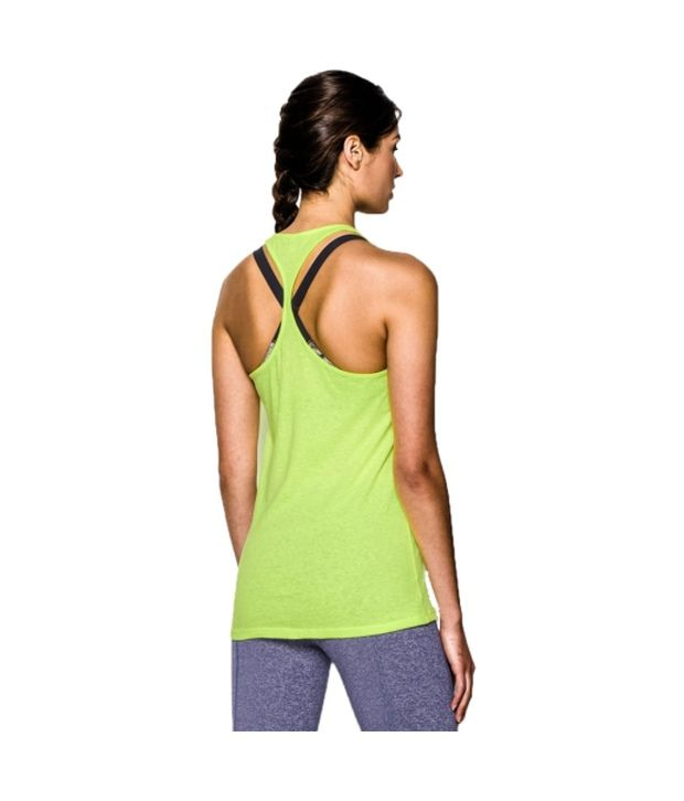 Under Armour Under Armour Women's Charged Cotton Tri-blend Stadium Tank Top, True Gray Heather/granite