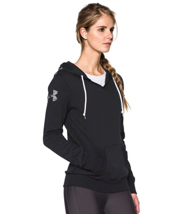 Under Armour Under Armour Women's Favorite Graphic Pullover Hoodie, Carbon Heather