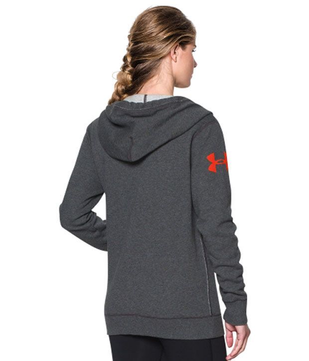 Under Armour Under Armour Women's Favorite Fleece Wordmark Hoodie, Rebel Pink/white