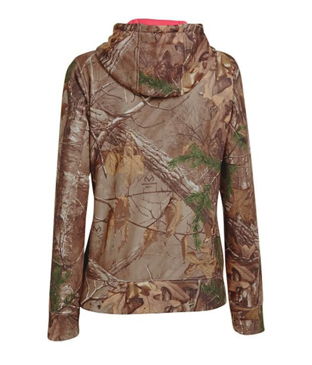 Under Armour Under Armour Women's Camo Big Logo Hoodie, Mossy Oak Treestand