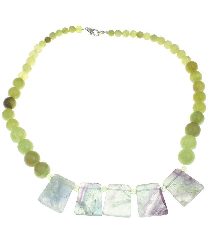light necklace aventurine a white displayed on therapeutic avl products green table gemstone gemisphere