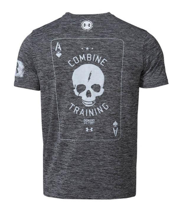 Under Armour Men's Combine Training Death Card Graphic T-Shirt, Black