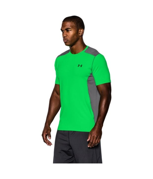 Under Armour Men's Raid Short Sleeve Shirt, Sunbleached/Sunbleached