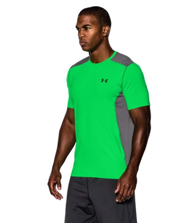 Under Armour Men's Raid Short Sleeve Shirt, Midnight Navy/Steel