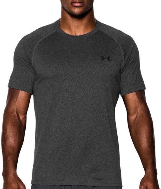 Under Armour Men's Tech II T-Shirt, Crimson