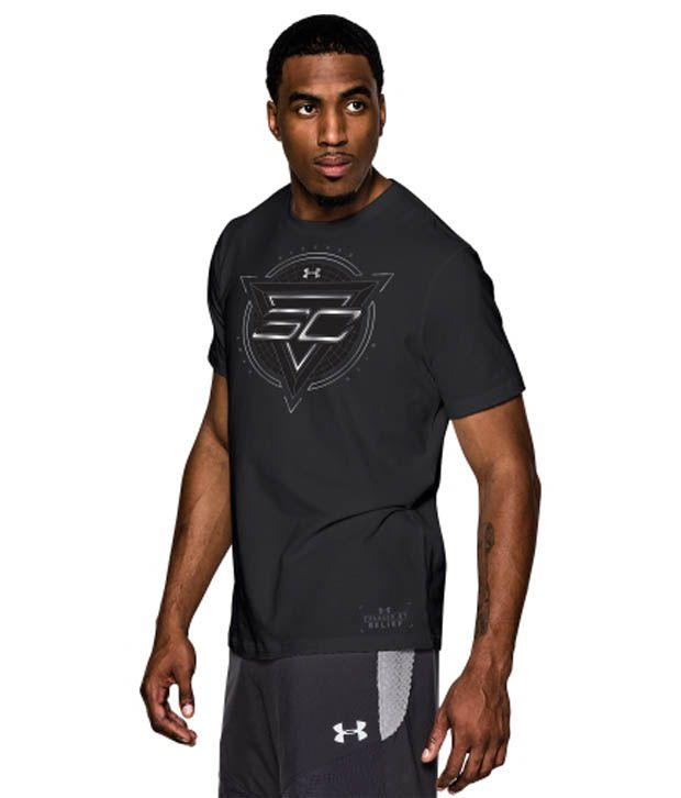 Under Armour Under Armour Men's Sc30 Blessed With Game Graphic T-shirt, Black/graphite