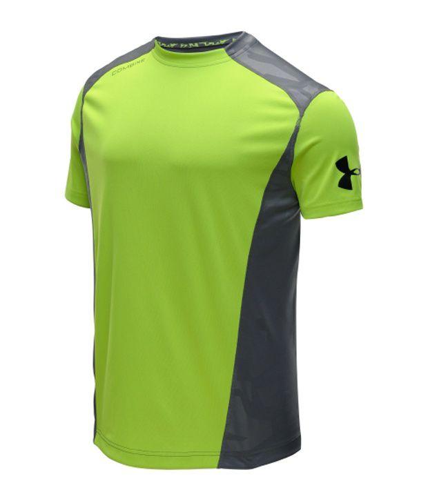 Under Armour Under Armour Men's Combine Training Volume Short Sleeve Shirt, Hvy/graphite/gph