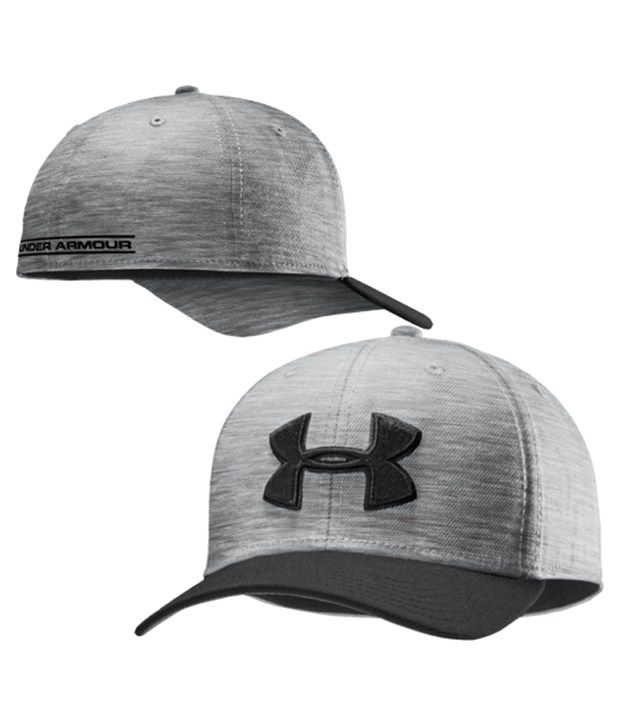 Under Armour Under Armour Men's Low Crown Stretch Fit Hat, After Burn/graphite