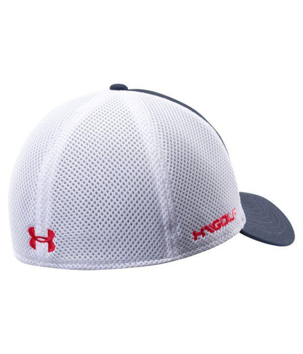 Under Armour Under Armour Men's Mesh Golf Hat, Amalgam Grey