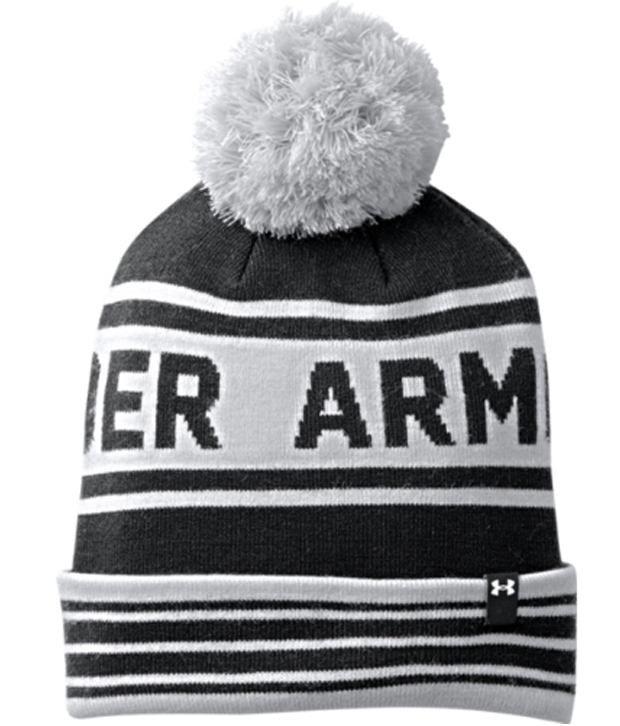 Under Armour Under Armour Men's Retro Pom Beanie, High-vis Yllw/wht/academy