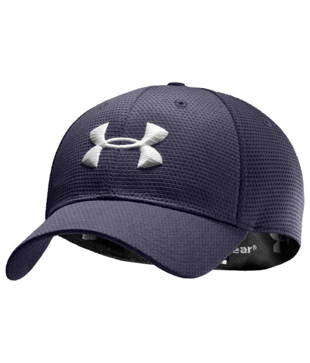 Under Armour Under Armour Men's Blitzing Stretch-fit Cap, Graphite