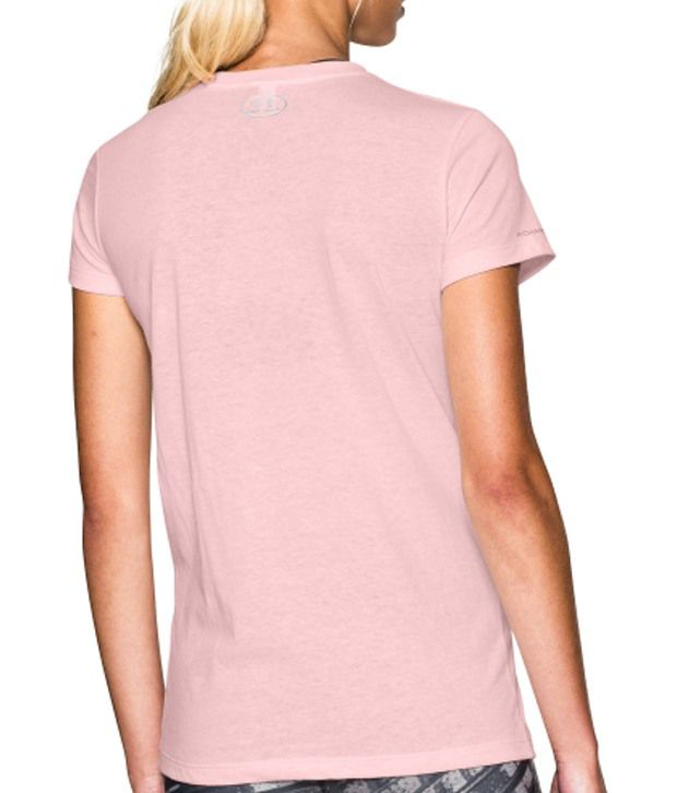 Under Armour Under Armour Women's Sweat Therapy Tri-blend T-shirt, Rosewater