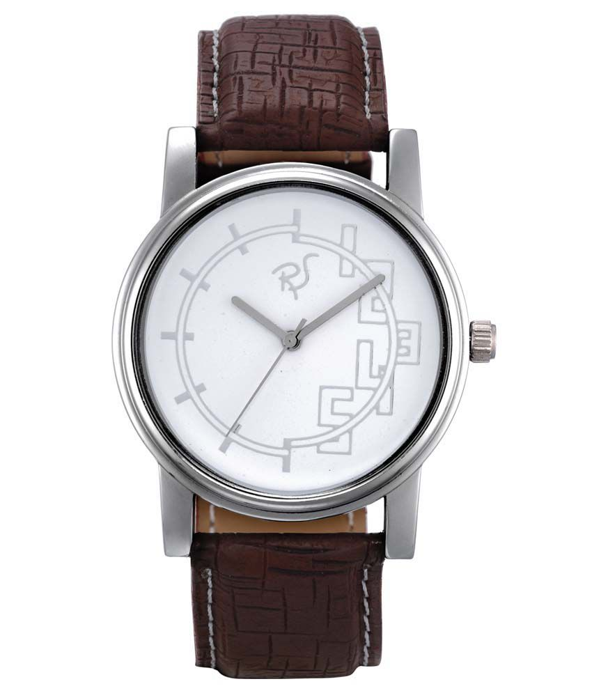 Rico Sordi Rico Sordi Brown Analog Round Watch