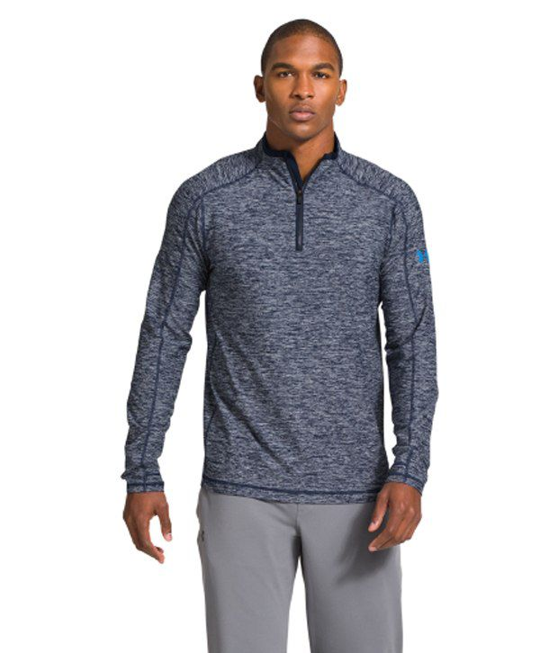 Under Armour Under Armour Men's Elevated Ultimate Quarter Zip Long Sleeve Shirt, Academy/electric Blue/elb
