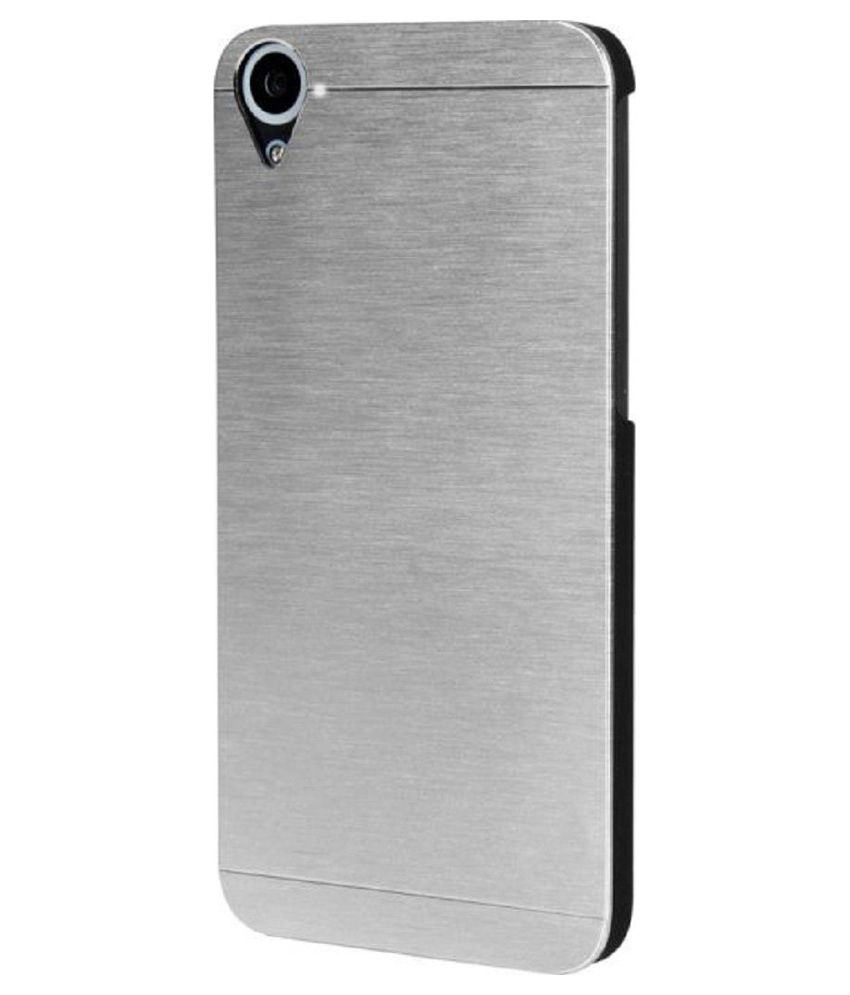 reputable site bf4b3 94ab5 Unique Back Cover For Htc Desire 826 Dual Sim - Silver