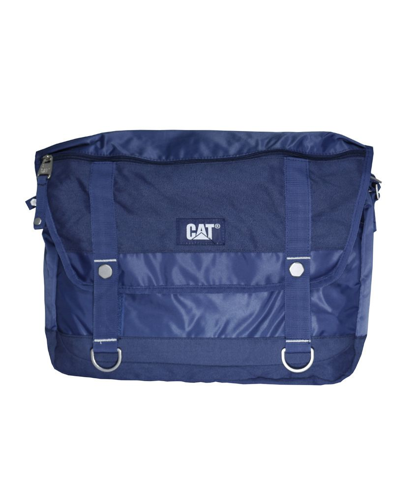 Cat Blue Laptop Bag