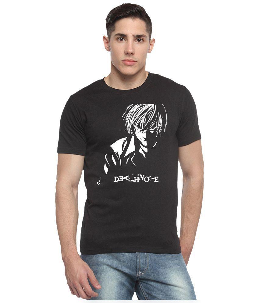 Sharq Black Cotton T-Shirt