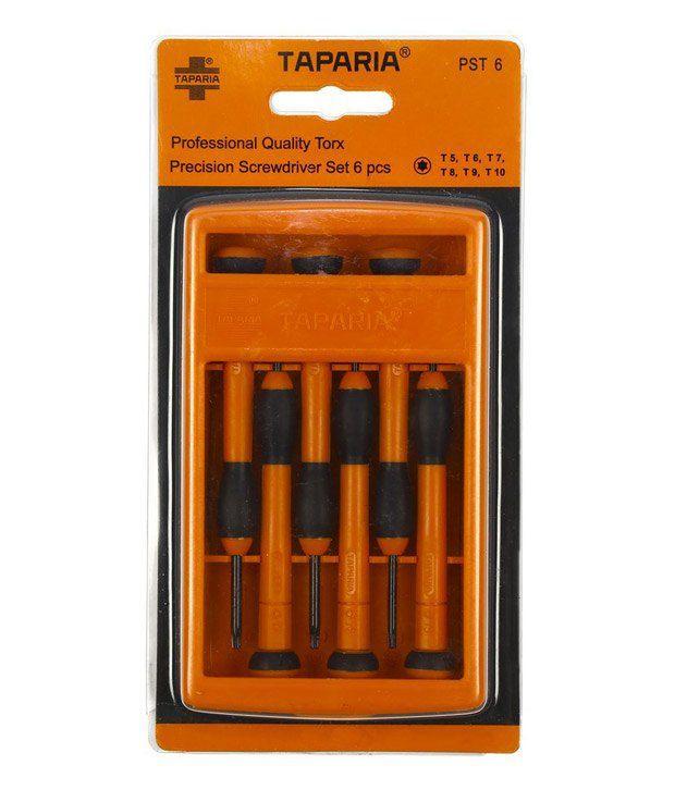 taparia 6pcs precision screwdriver set psf6 buy taparia 6pcs precision screwdriver set psf6. Black Bedroom Furniture Sets. Home Design Ideas