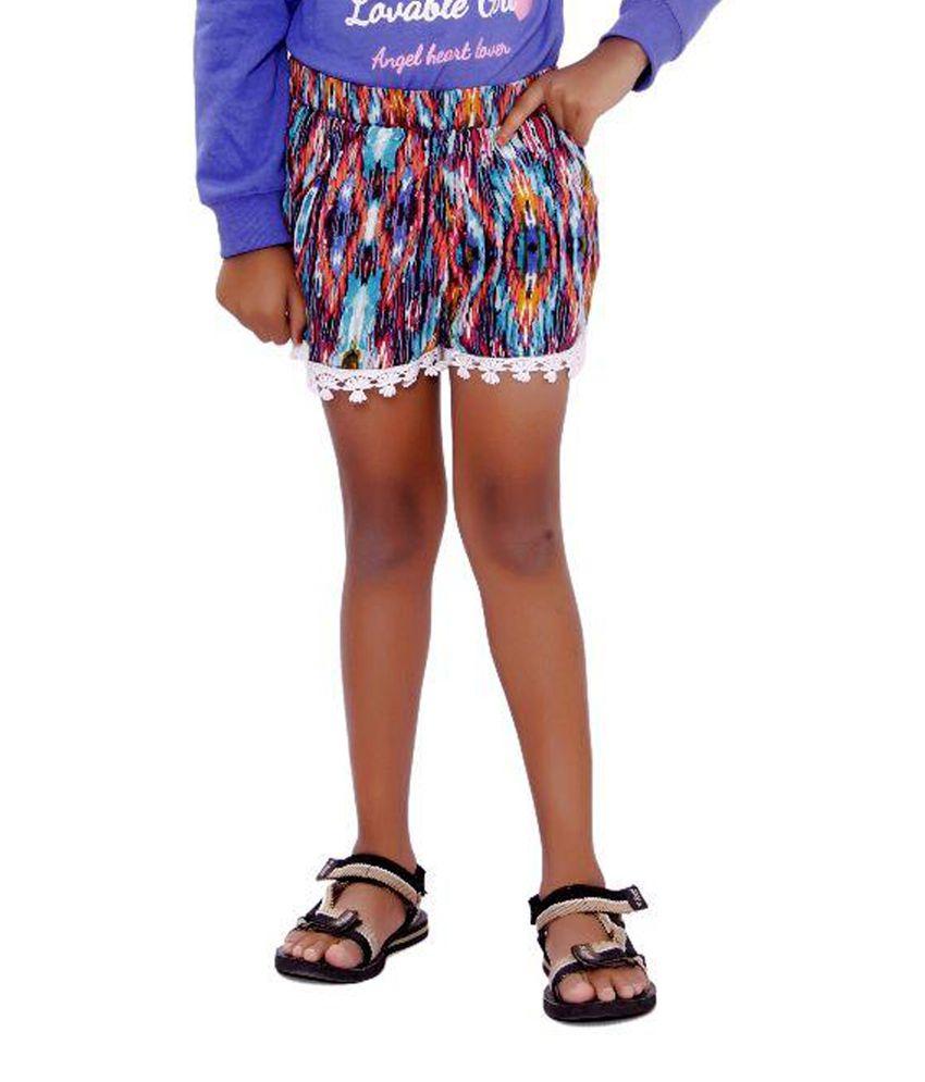 SML Originals Multicolour Rayon Shorts