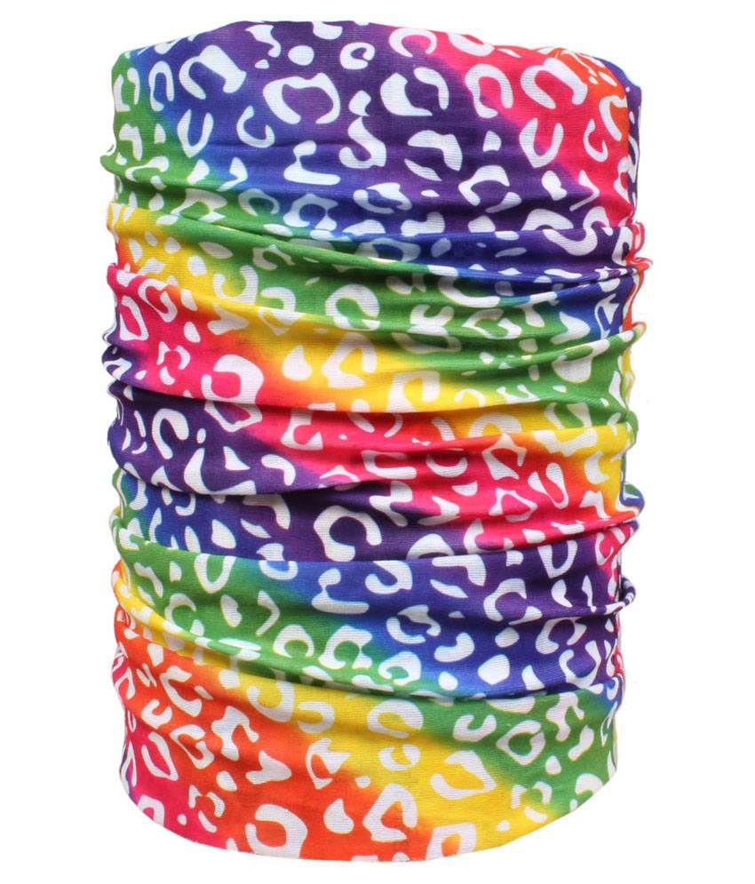 Sushito Multicolour Polyester Bandana For Women