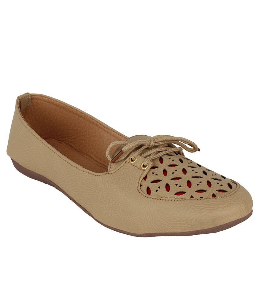 Authentic Vogue Tan Casual Shoes