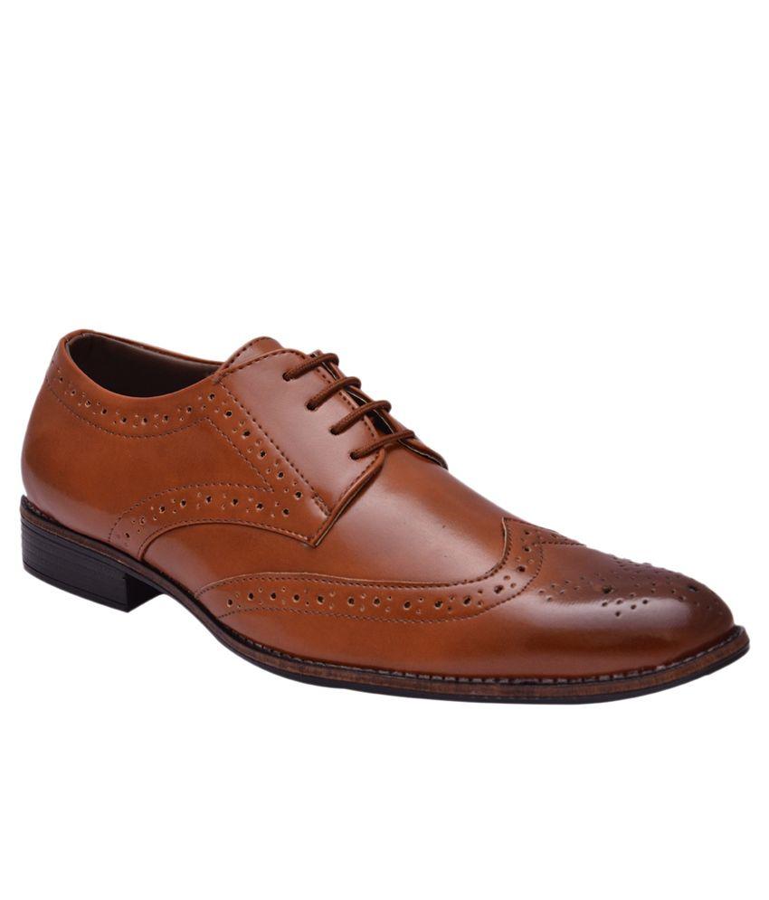 Sir Corbett Tan Formal Shoes