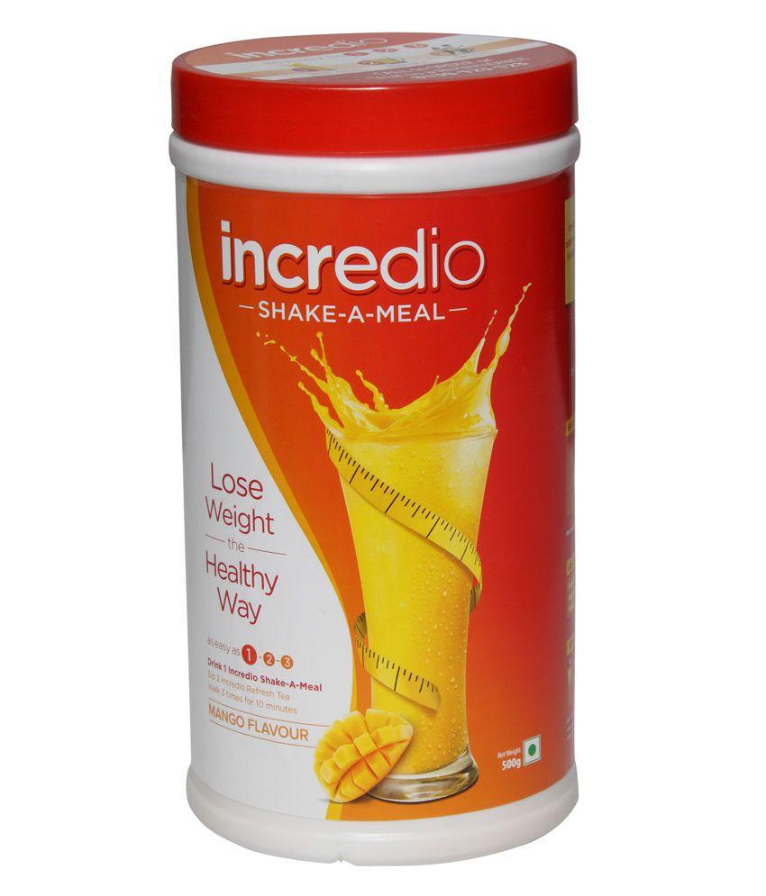 Incredio Shake-A-Meal, 500 gms Mango
