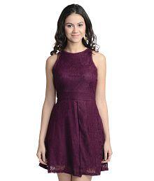 At499 Polyester Mini Dress,A Line Dresses