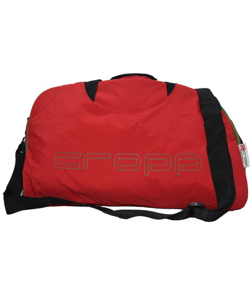 Cropp Red Polyester Gym Bag