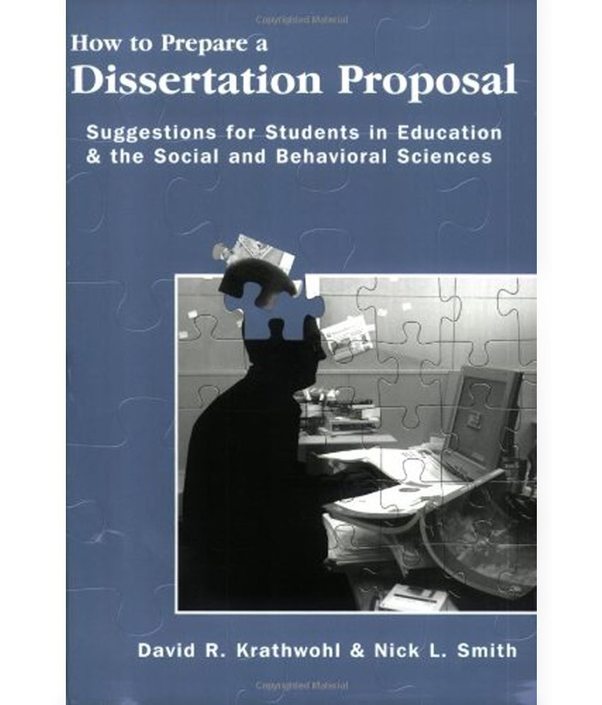 Dissertation proposal for sale