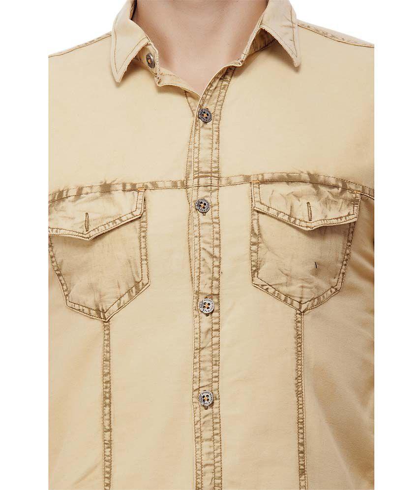 c33d3fecadf0 Jimmy And Jordan Beige Casual Shirt - Buy Jimmy And Jordan Beige ...