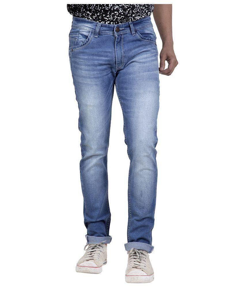 Zubery Jeans Blue Slim Fit Jeans