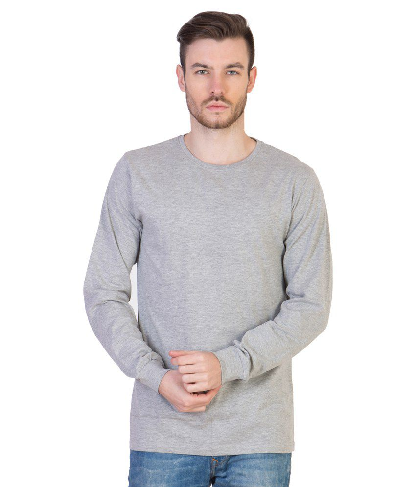 Acomharc Inc Grey Cotton T-shirt