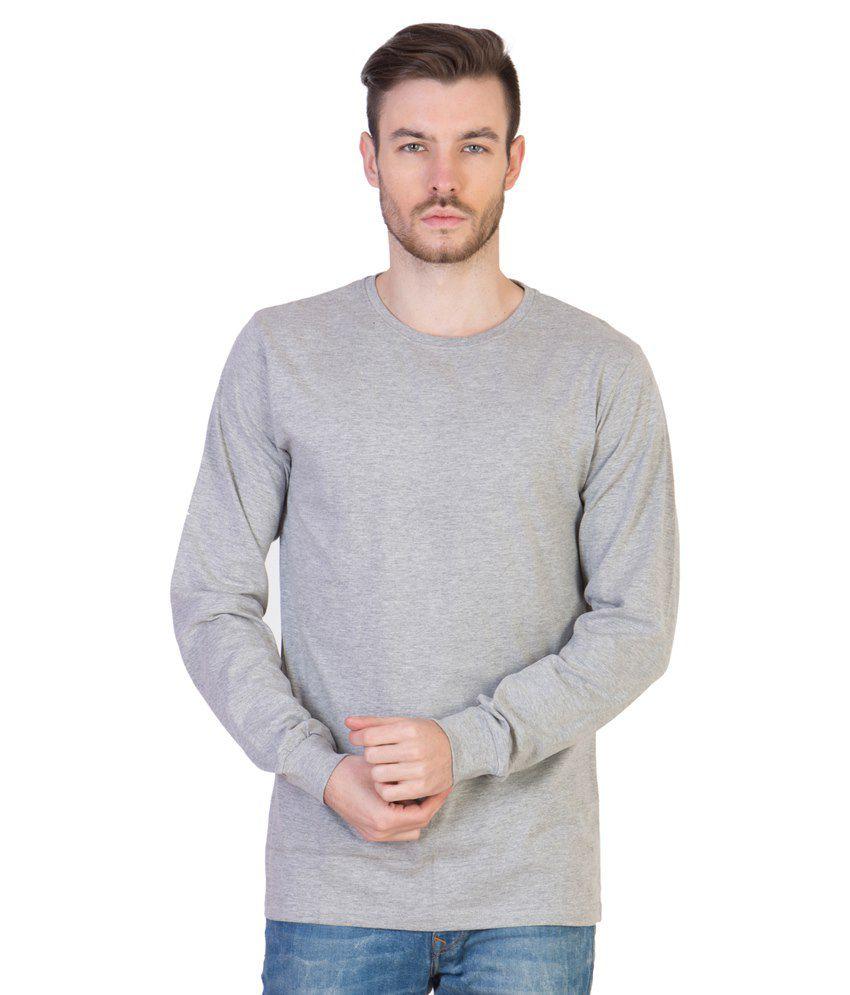 Acomharc Inc Grey Cotton T-shirt