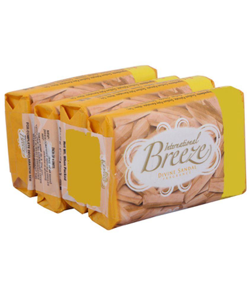 Breeze Divine Sandal Soap Bar 100 g: Buy Breeze Divine