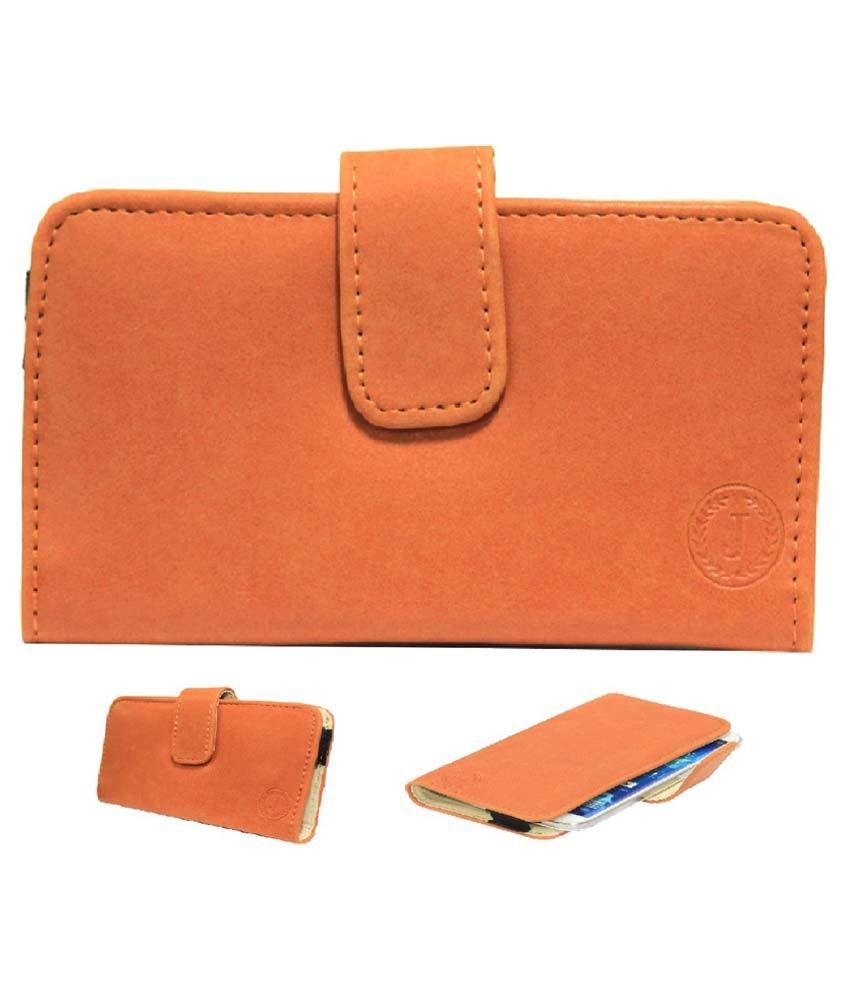 Jo Jo Mobile Pouch Cover For Blackberry Porsche Design P9981-orange