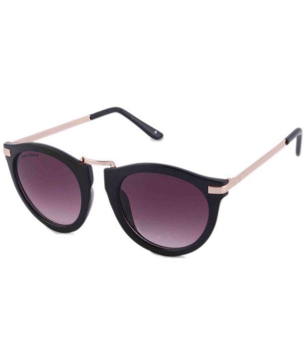 Joeblack Purple Small Unisex Round Sunglasses
