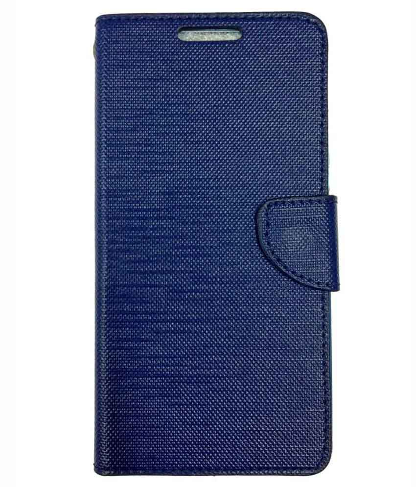 Fabson Flip Cover For Lenovo A7000 Turbo   Blue